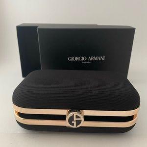 GIORGIO ARMANI beauty BLACKgold hard Pouch Clutch